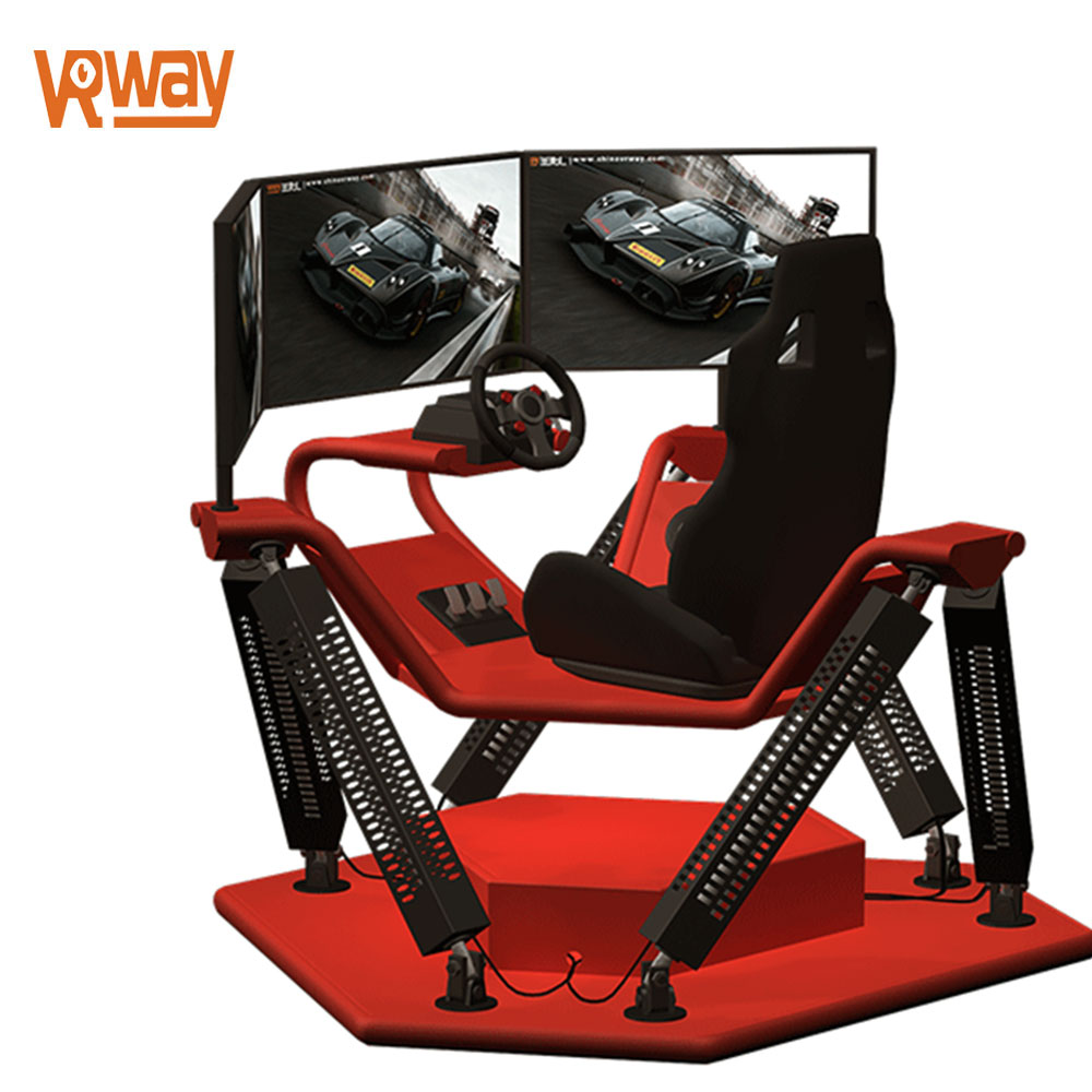 6 Dof Motion Arcade Car Driving Simulator VR Racing Machine