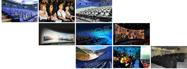 Hot Sale 4/5d cinema cabin 4/5d projector cinema equipment for mall_VRway