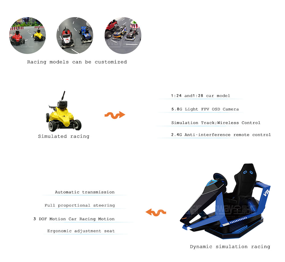 AR Racing Simulator Augmented Reality Track Car Race Arcade Game Machine