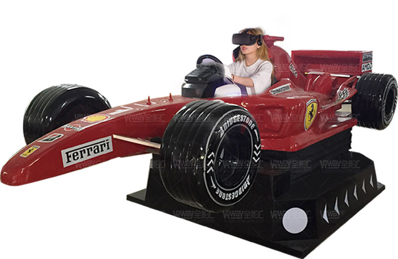 6 DOF Driving Car Outdoor Amusement Park Equipment motion f1 simulator