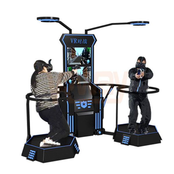 2 Players VR Fighting Virtual Reality Battle Shooting Games Machine