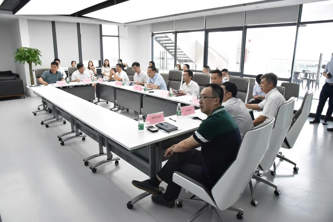 Deputy Mayor Zhao of Foshan Municipal Government and his party visited VRway for investigation