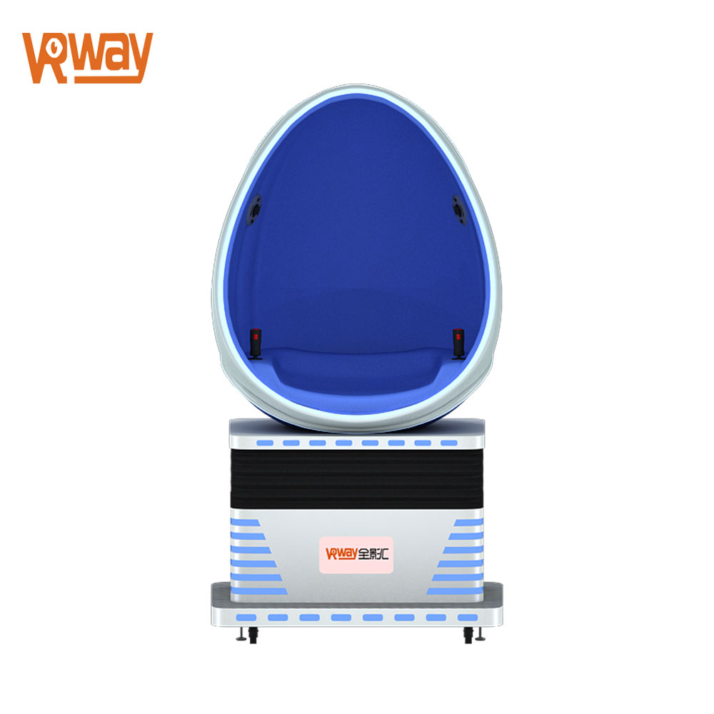 VRway 9d vr 1 seat egg chair single cabin 9d cinema virtual reality hall