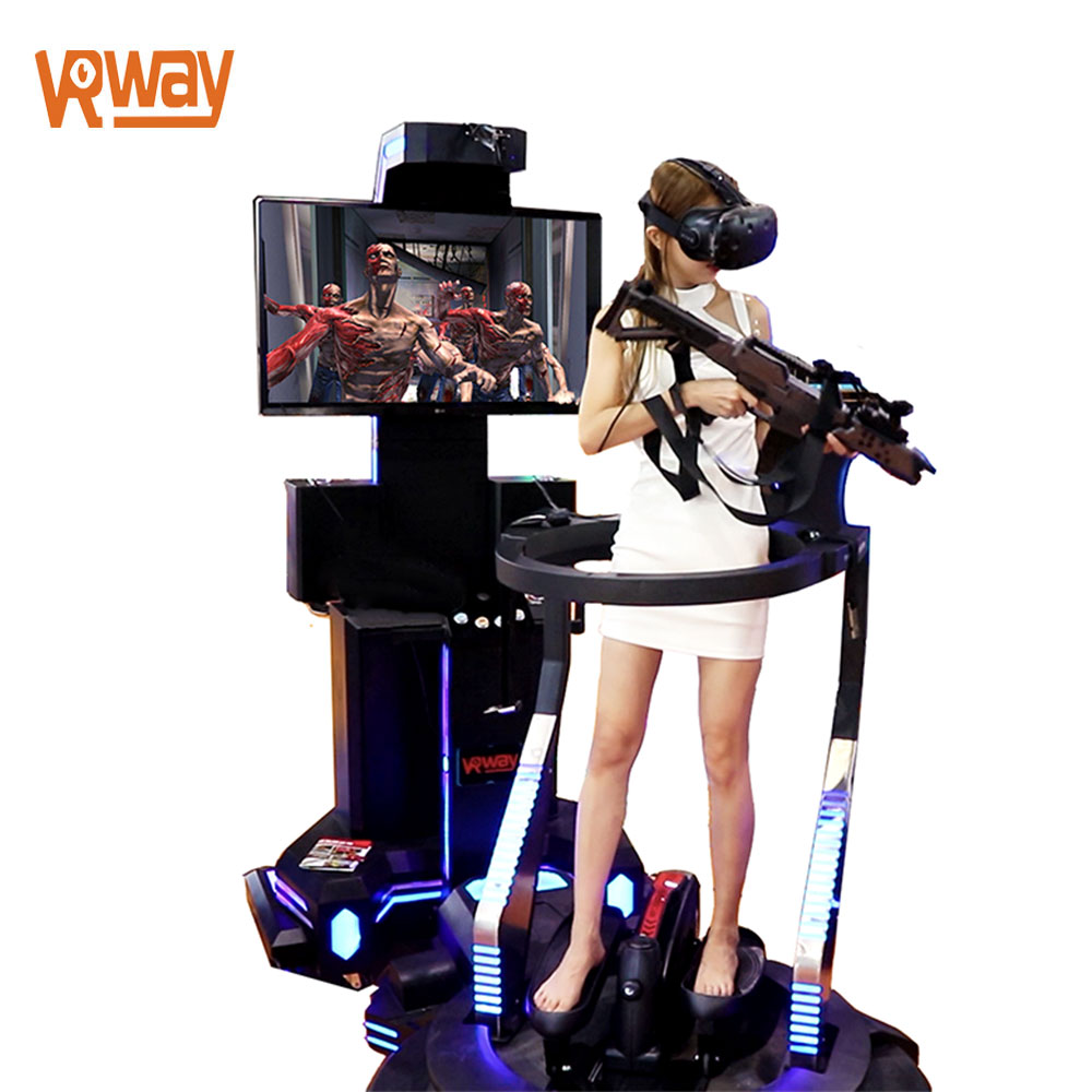 9D VR Shooting Game Simulator VR Machine for Game zone