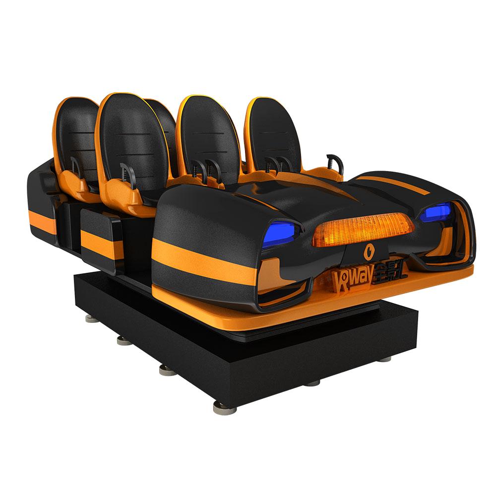 9D VR Starship