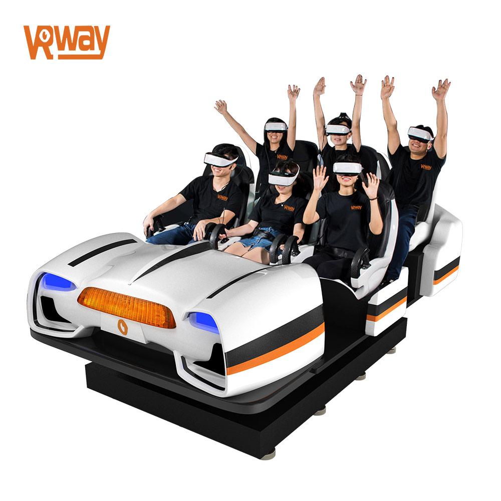 9D VR Timer Virtual Reality Entertainment Simulator Arcade Game Mahine