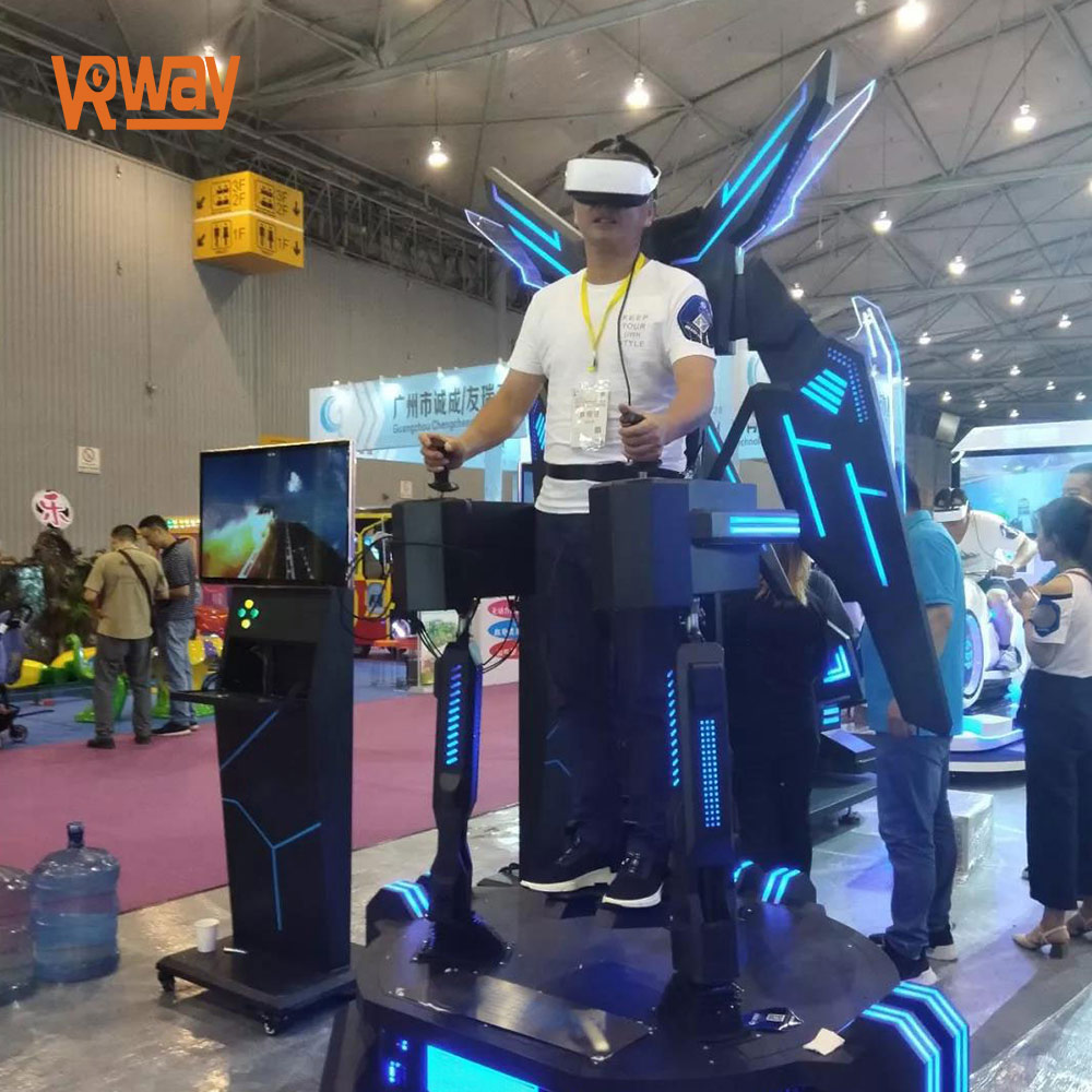 9D VR cinema Eagle Flight Simulator