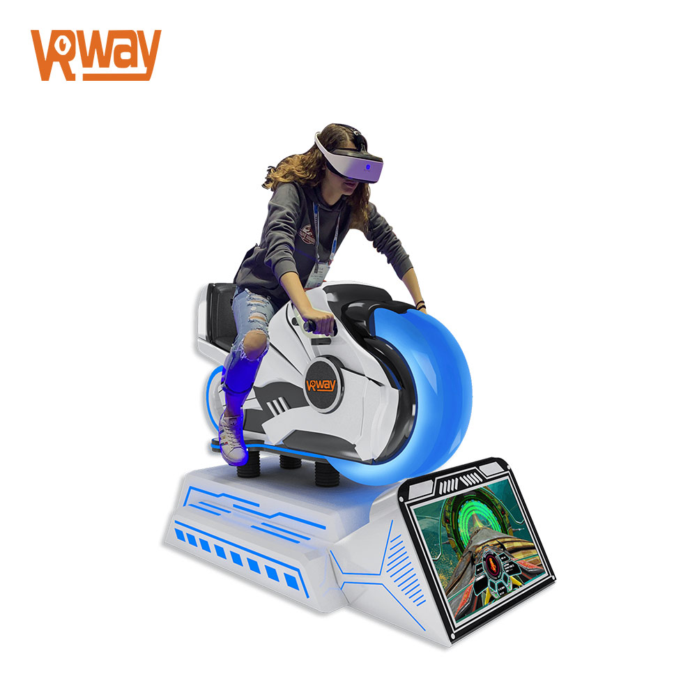 Virtual Reality Motorcycle Racing 9D VR Simulator Game Machine Motorbike Arcade Park