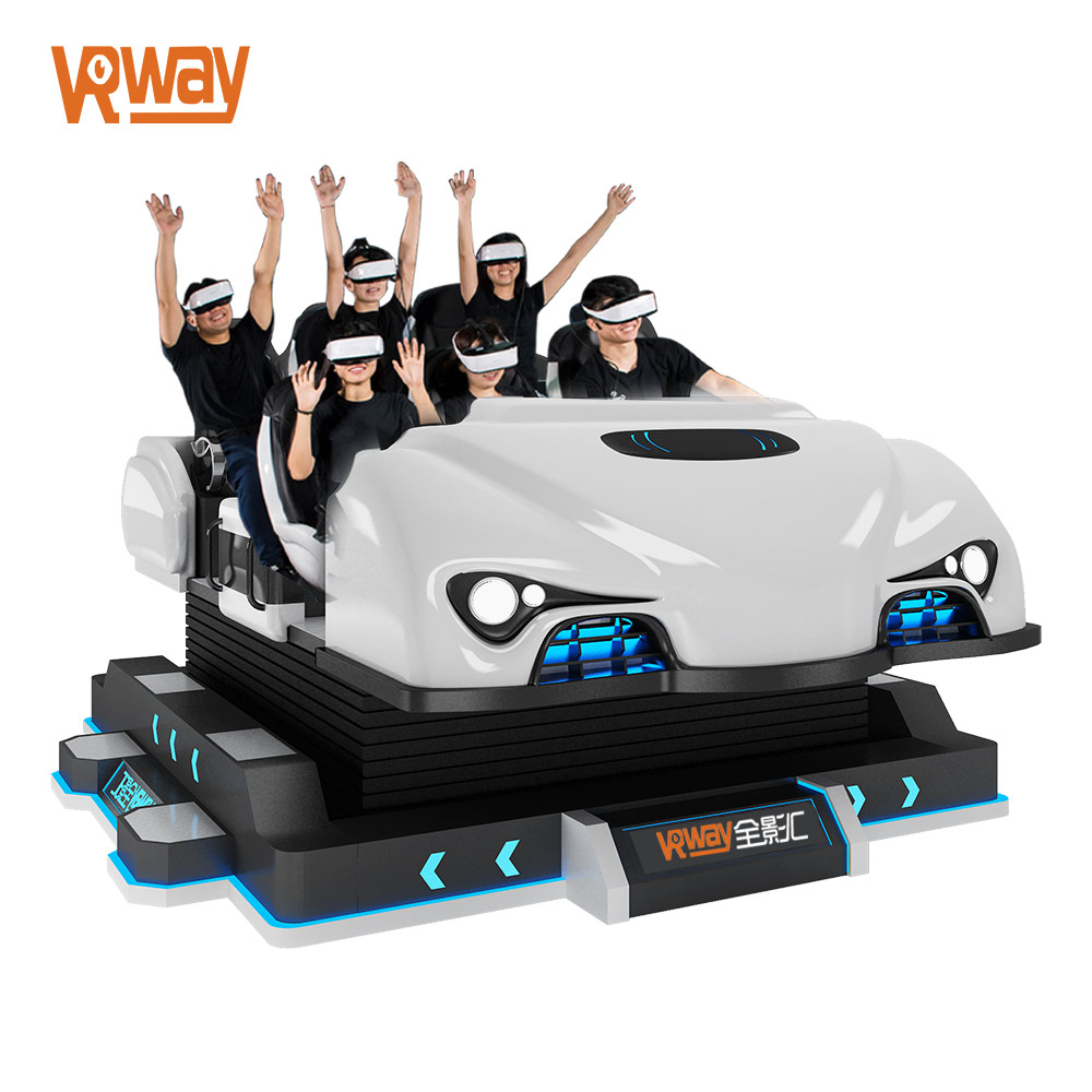 6 Seats 9D VR Starship Space Motion Simulator Theater