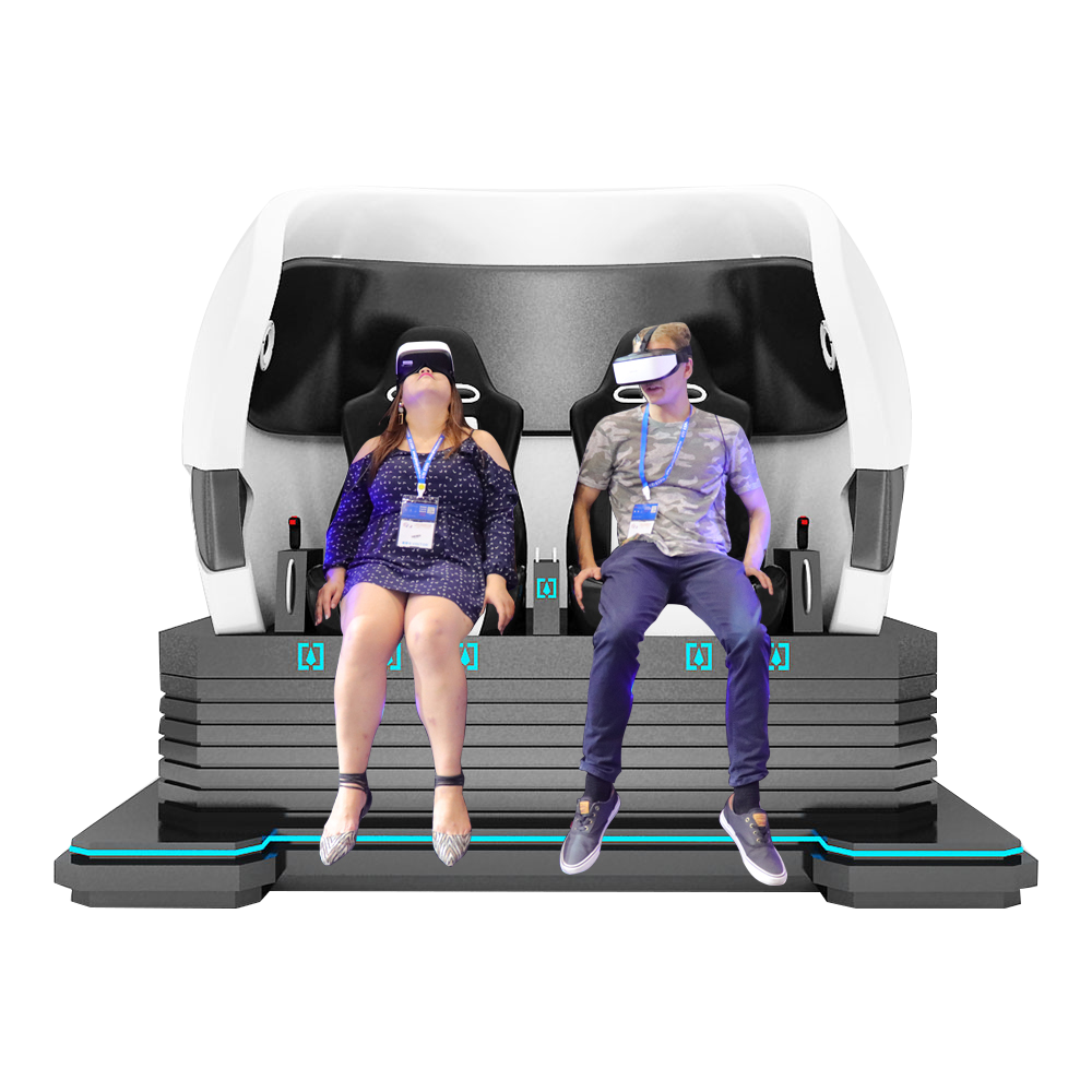 9D VR 2 Seats Egg Chair