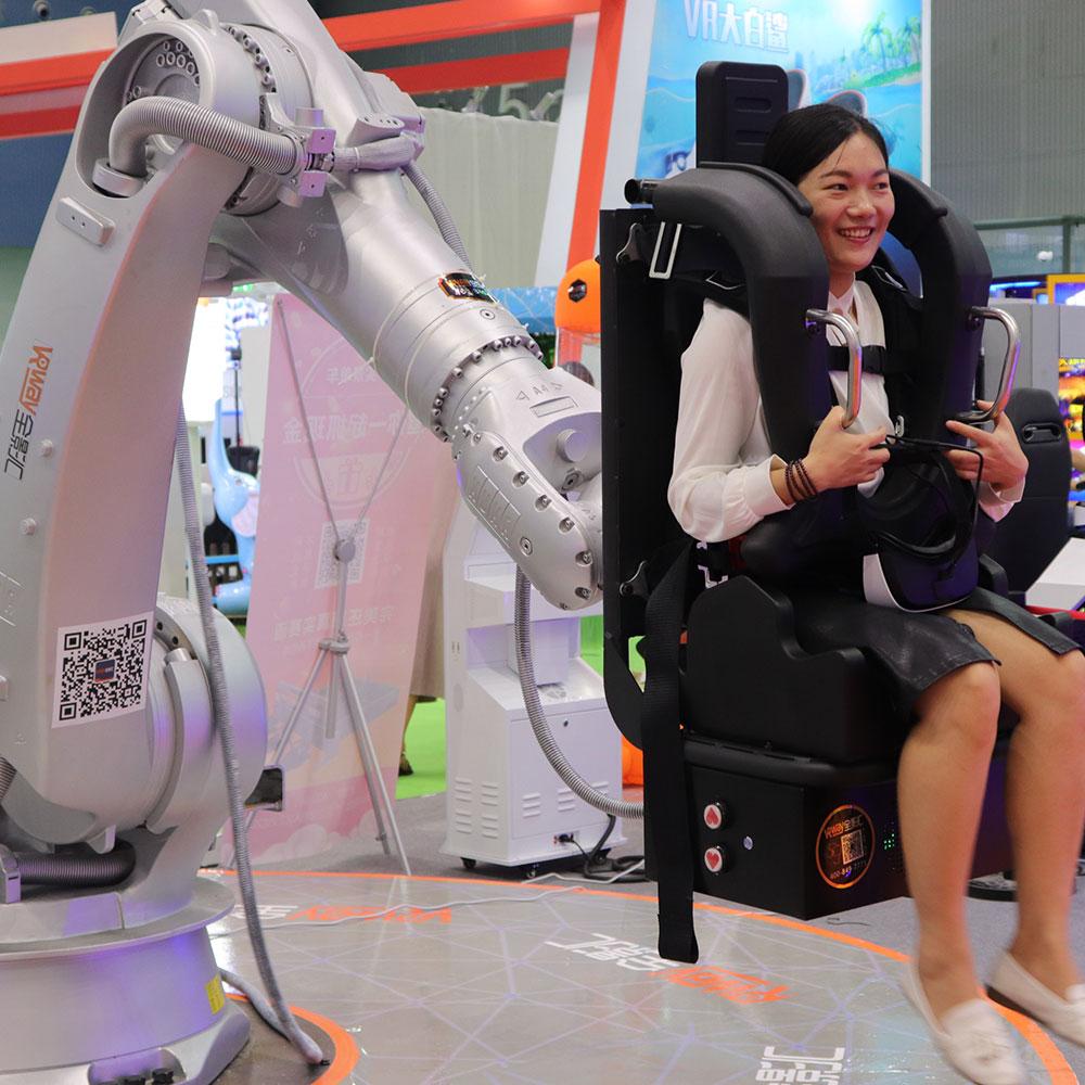 virtual reality rabotic arm