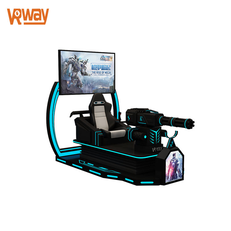 New Equipment 9D Shooting Game Virtual Reality Simulator Vive Gun Gatling VR Simulator
