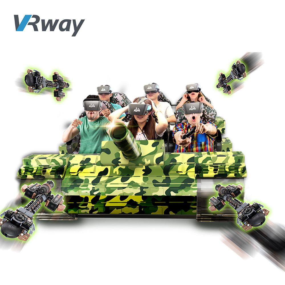 9D VR Tank 9D Virtual Reality Cinema Machine