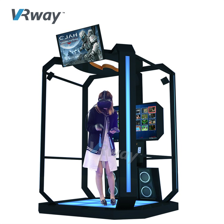 Unlimited Explore VR Shooting Arcade Game machine for Children VR Game Center