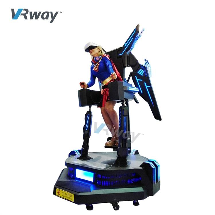 Standing VR Simulator Virtual Reality Arcade Game machine