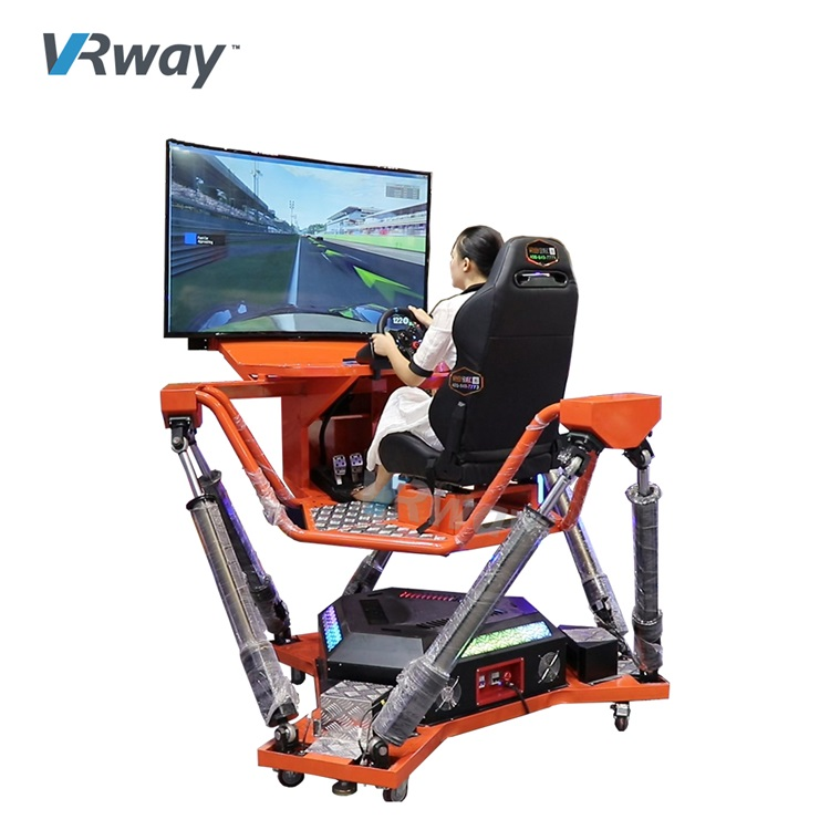 6 DOF Motion Car Racing Motion Platform Driving Simulator for Theme park/Game center