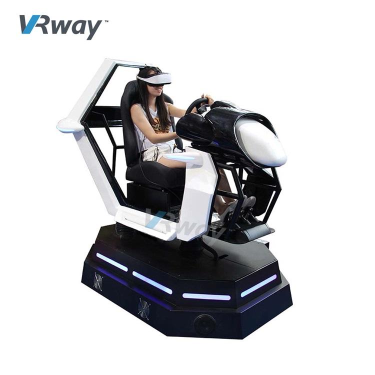 3 DOF Attractive VR Racing Car Driving 3 dof Wheel Drive Simulator Car VR Race