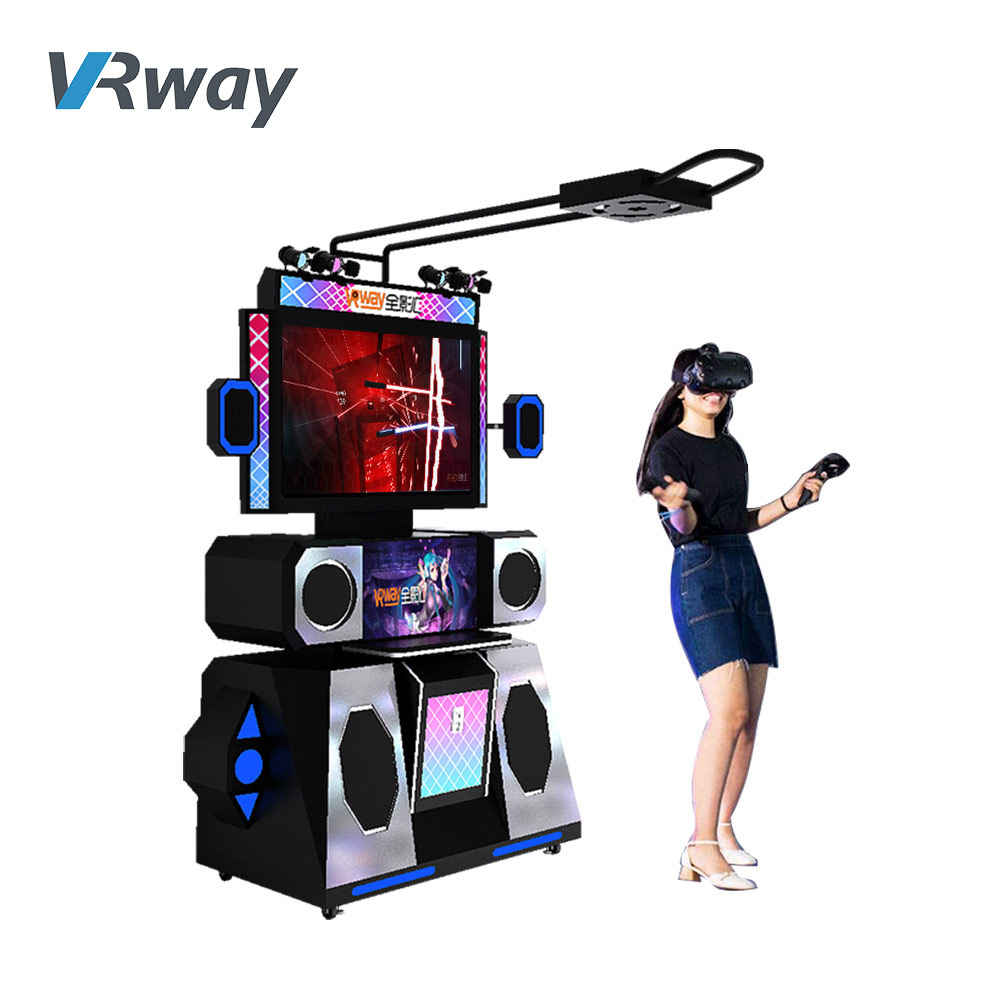 VR Dancing Motion Electric Dance Arcade Game Machine