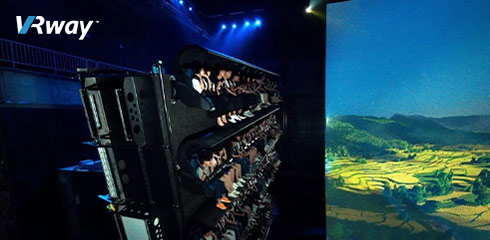 Flying Theater, Panoramic Surround Viewing Experience_VRway