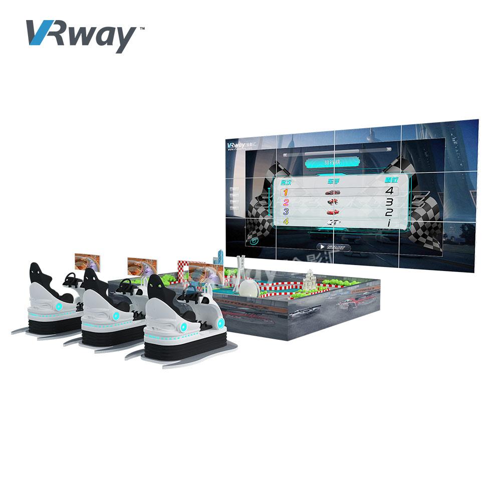 AR Racing Simulator Augmented Reality Track Car Race Arcade Game Machine